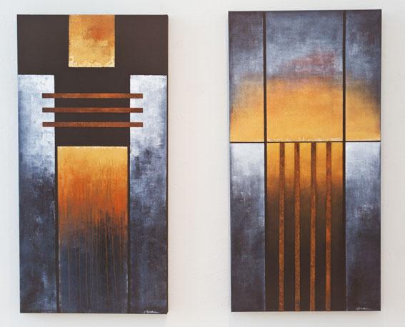 Utställningen med Ingrid Anderssons måleri och Bodil Magnussons  glasskulpturer har vernissage i Klippans konsthall lördagen den 13 oktober  och pågår t.o.m. ... 37077c8b1dff4